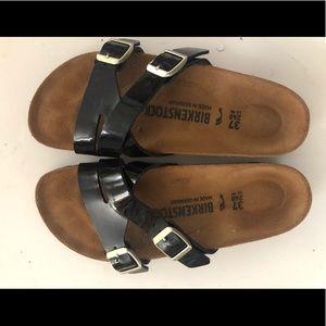 Unique Birkenstock's multi-strap sandals